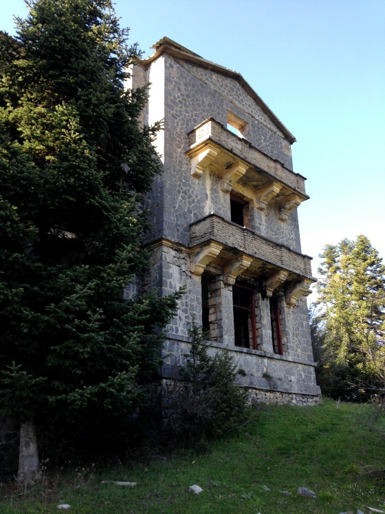 sanatorium from outside