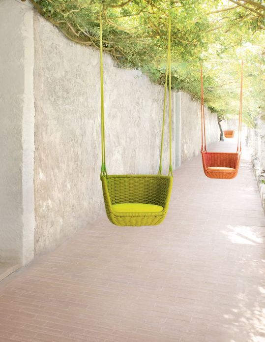 Pops of colours - swings!