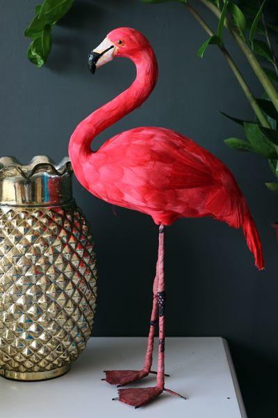 Kitsch In Decoration My Blue Flamingo