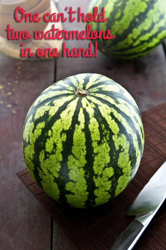 watermelon proverb