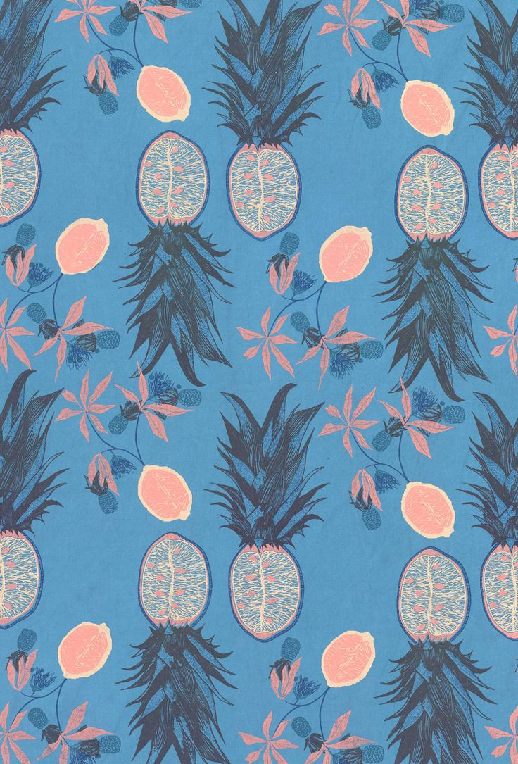 Pineapple pattern background - photo#10