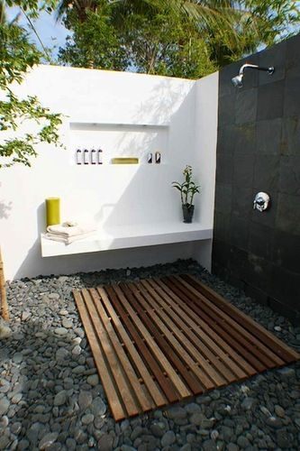 Black&White &wood in the nature. Nice element the bench idea