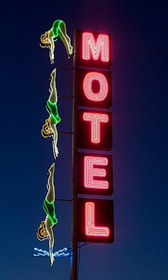 vintage motel signs_my blue flamingo