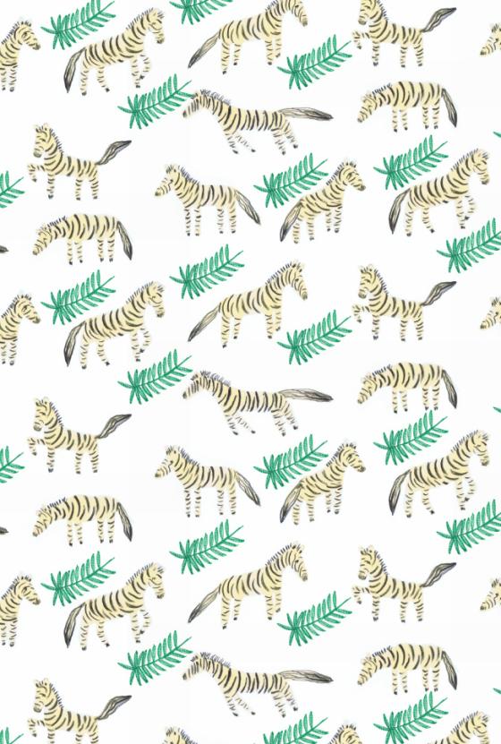 Jungle jebras by Elena Mir