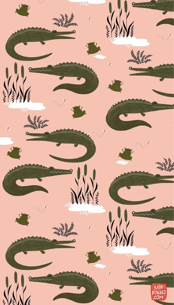 Crocodiles! Mirdinara patterns