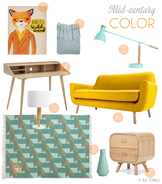 midcentury color