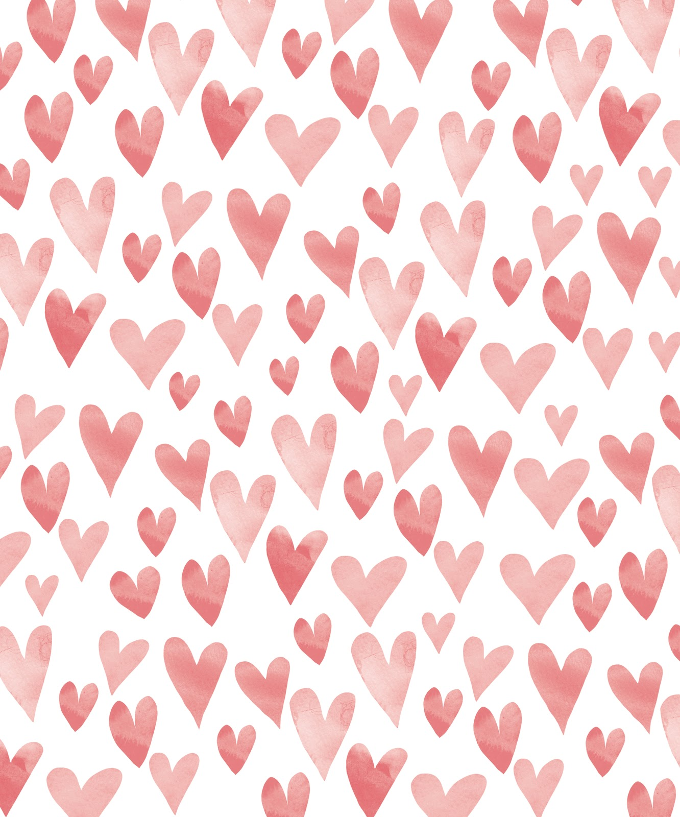 Current image in heart pattern printable