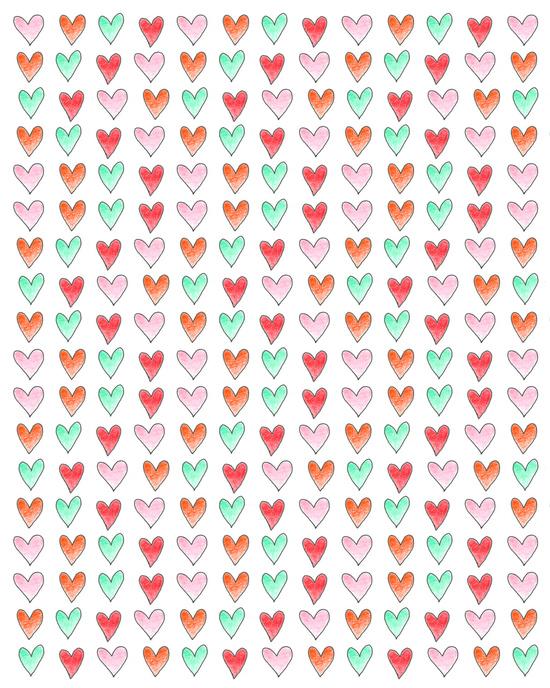 hearts patterns4_mbf