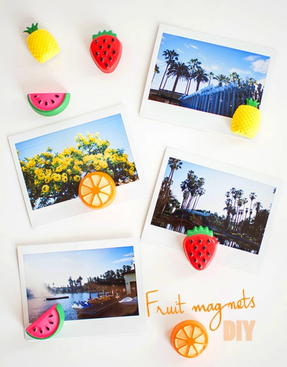 fruit magnets diy
