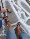 Mine and G's summer feet :)