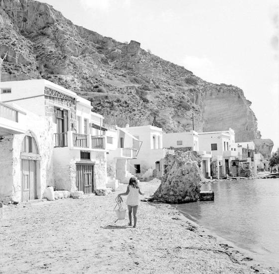 Milos, Greece 1970. Photo by Zaharias Stellas