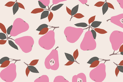 Pear pattern by My textile design