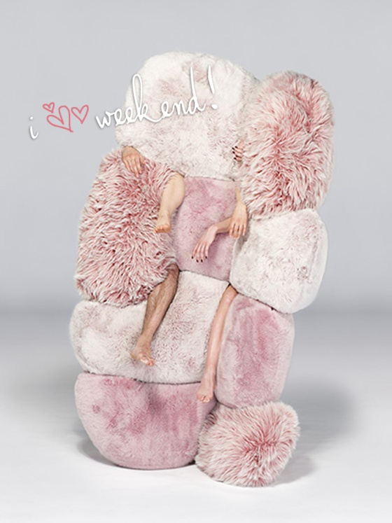 pink fluffy weekend