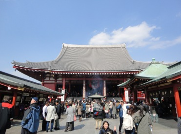 Main Hall of Senso-ji temple