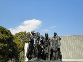 The Burgers of Calais by Rodin