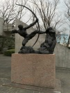 Hercules the Archer by Antoine Bourdelle