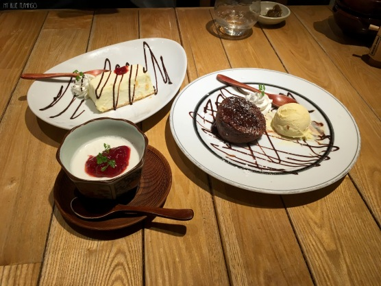 western and traditional dessert flavors