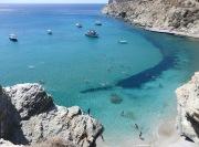 Agali's beach tempting waters