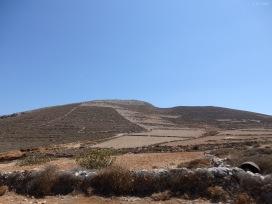 The general landscape of Folegandros