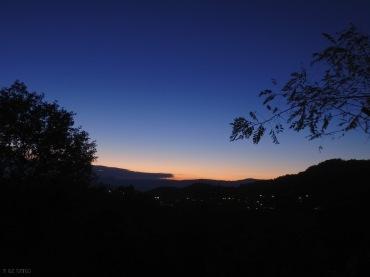 Sunset at Small Papigko, closing a beautiful day