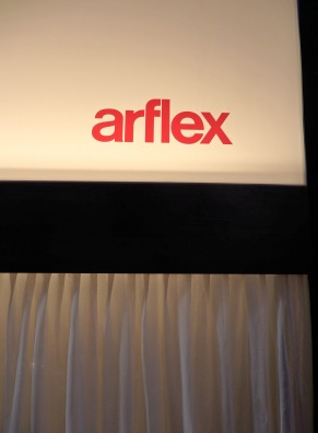 Arflex sign detail