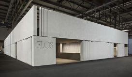 The huge booth of Flos! Tresures inside...