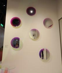 Glasitalia round mirrors