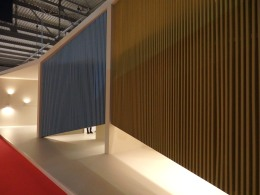 Vibia, their booth's facade which i loved