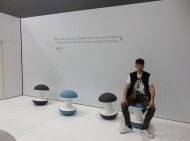 There were a lot of strange and peculiar stools or seatings in general. When you see it and you don't know what to do with it! But I assure you all of them were super comfy!!