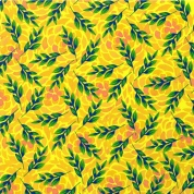 Leaves in yellow
