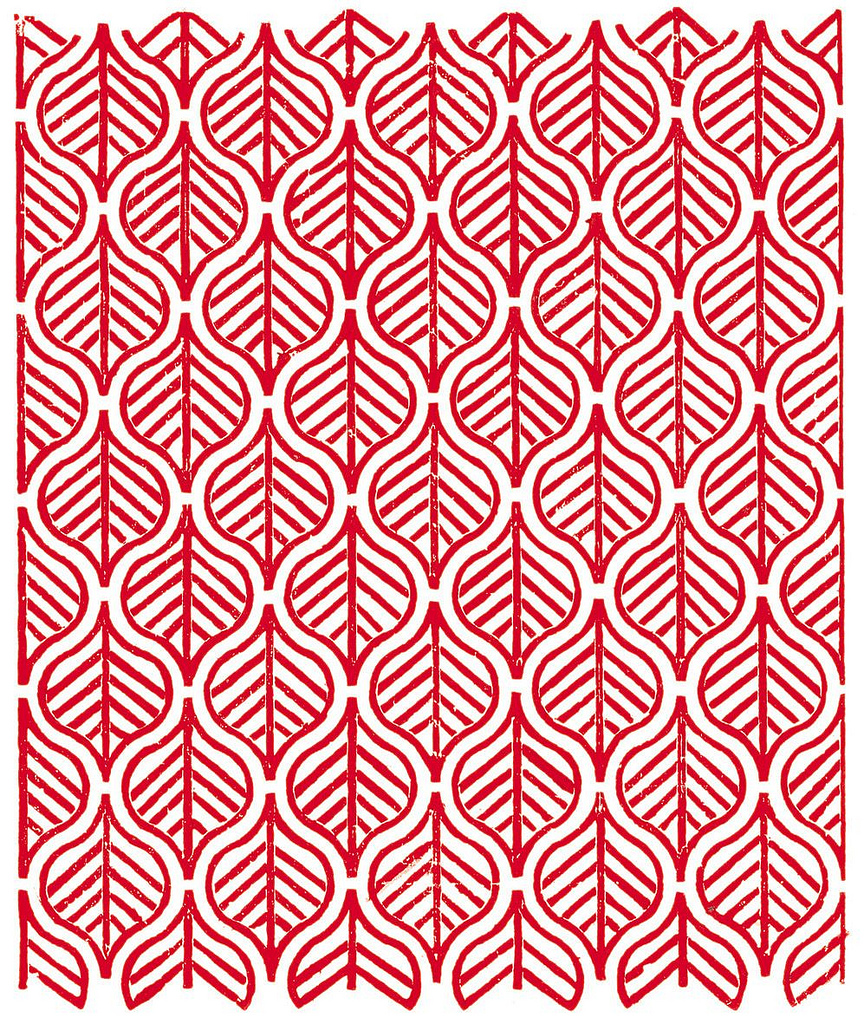 Patterns from India | Part 2 | my blue flamingo Red Straight Line Vector