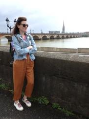 Me, ready to explore Bordeaux