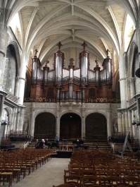 The impressive organ of St.Andre