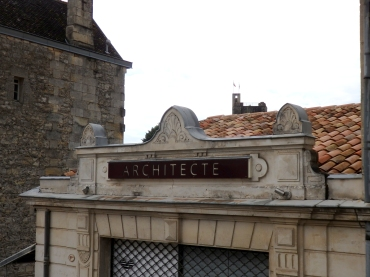 Architect's office at St.Emilion